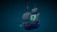 Sea of Thieves - new legendary ship sail