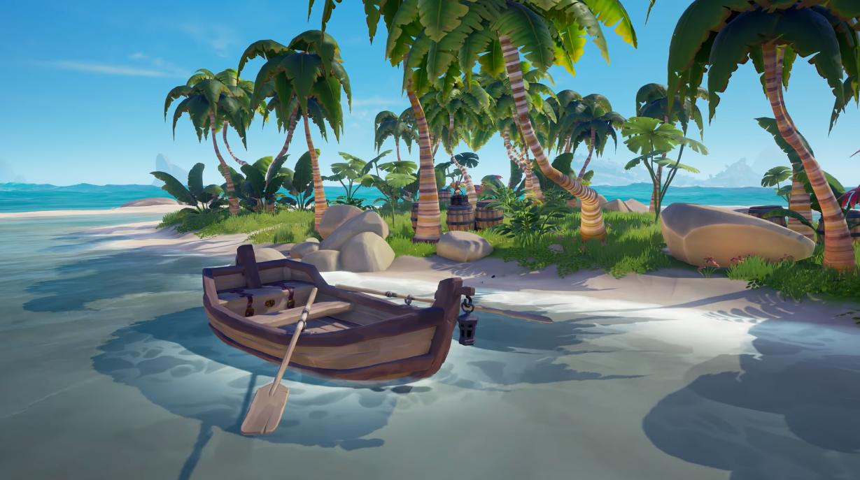 Rowboat | Sea of Thieves Wiki | FANDOM powered by Wikia