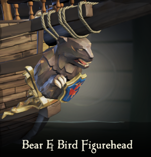 Bear & Bird Figurehead | Sea of Thieves Wiki | FANDOM