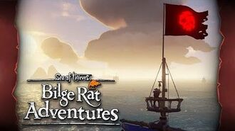 Official Sea of Thieves Bilge Rat Adventures Cursed Crews