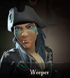 Sea of Thieves - Weeper face paint