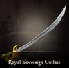 Sea of Thieves - Royal Sovereign Cutlass