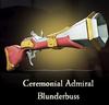 Sea of Thieves - Ceremonial Admiral Blunderbuss