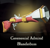 Sea of Thieves - Ceremonial Admiral Blunderbuss