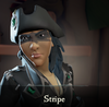 Sea of Thieves - Stripe face paint