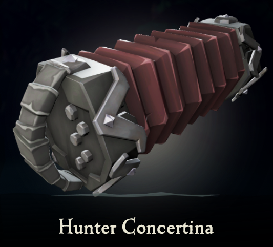 Hunter Concertina | Sea of Thieves Wiki | FANDOM powered by