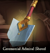 Sea of Thieves - Ceremonial Admiral Shovel