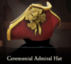 Sea of Thieves - Ceremonial Admiral Hat-0