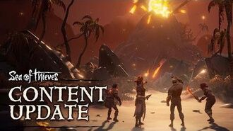 Official Sea of Thieves Content Update Forsaken Shores