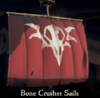 Sea of Thieves - Bone Crusher Sails