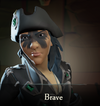 Sea of Thieves - Brave face paint