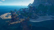 SoT Plunder Outpost from crows nest