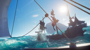 Sea of Thieves - skeleton ship