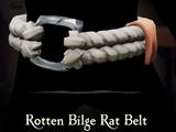 Rotten Bilge Rat Belt