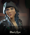 Sea of Thieves - Black Eye face paint