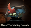 Sea of Thieves - Hat of the Wailing Barnacle