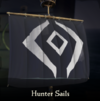 Sea of Thieves - Hunter Sails