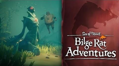 Official Sea of Thieves Bilge Rat Adventures The Sunken Curse