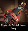 Sea of Thieves - Ceremonial Admiral Hurdy-Gurdy