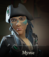 Sea of Thieves - Mystic face paint