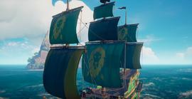 Lion sail