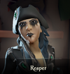 Sea of Thieves - Reaper face paint