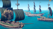 Sea of Theives - all three ships