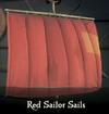 Sea of Thieves - Red Sailor Sails