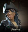 Sea of Thieves - Shadows face paint