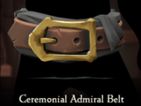 Ceremonial Admiral Belt