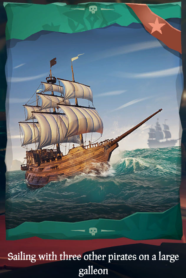 galleon sea of thieves wiki fandom powered by wikia
