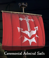 Sea of Thieves - Ceremonial Admiral Sails