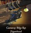 Castaway Bilge Rat Figurehead