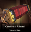 Sea of Thieves - Ceremonial Admiral Concertina