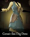 Sea of Thieves - Corsair Sea Dog Dress