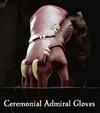 Sea of Thieves - Ceremonial Admiral Gloves