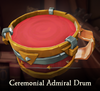 Sea of Thieves - Ceremonial Admiral Drum