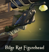 Figurehead bilge rat