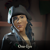 Sea of Thieves - One-Eye face paint
