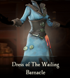 Sea of Theives - Dress of the Wailing Barnacle