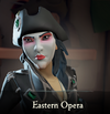 Sea of Thieves - Eastern Opera face paint