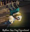 Ruffian Sea Dog Figurehead