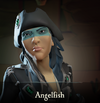 Sea of Thieves - Angelfish face paint