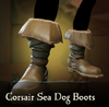 Sea of Thieves - Corsair Sea Dog Boots