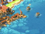 Floating Barrels