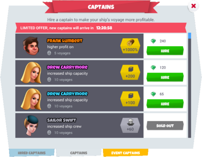 Captainslist
