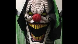 Underworld Clown Animated Halloween Prop Video 3