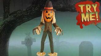 SVI Costco 2020 Pumpkin Head Scarecrow