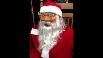 Rocking Santa Animated Prop