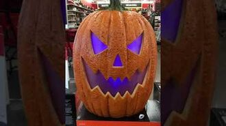 Michaels Halloween 2019- Scary Jack-O-Lantern